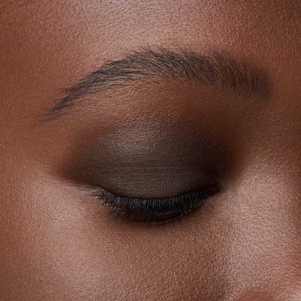 Dark Taupe - AS 107 - eyeshadow we make-up - Dark skin tone