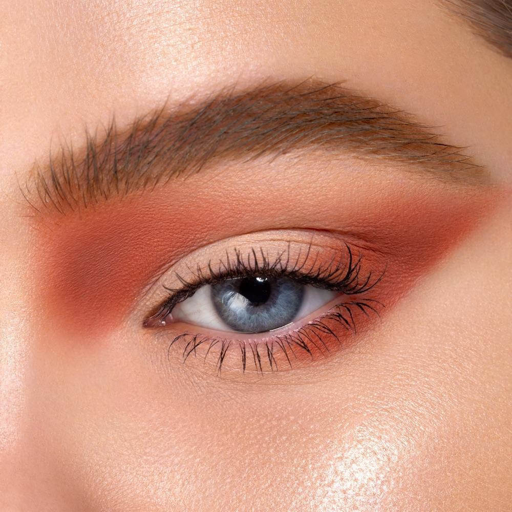 Salmon Pink - AS 112 - eyeshadow we make-up - Fair skin tone