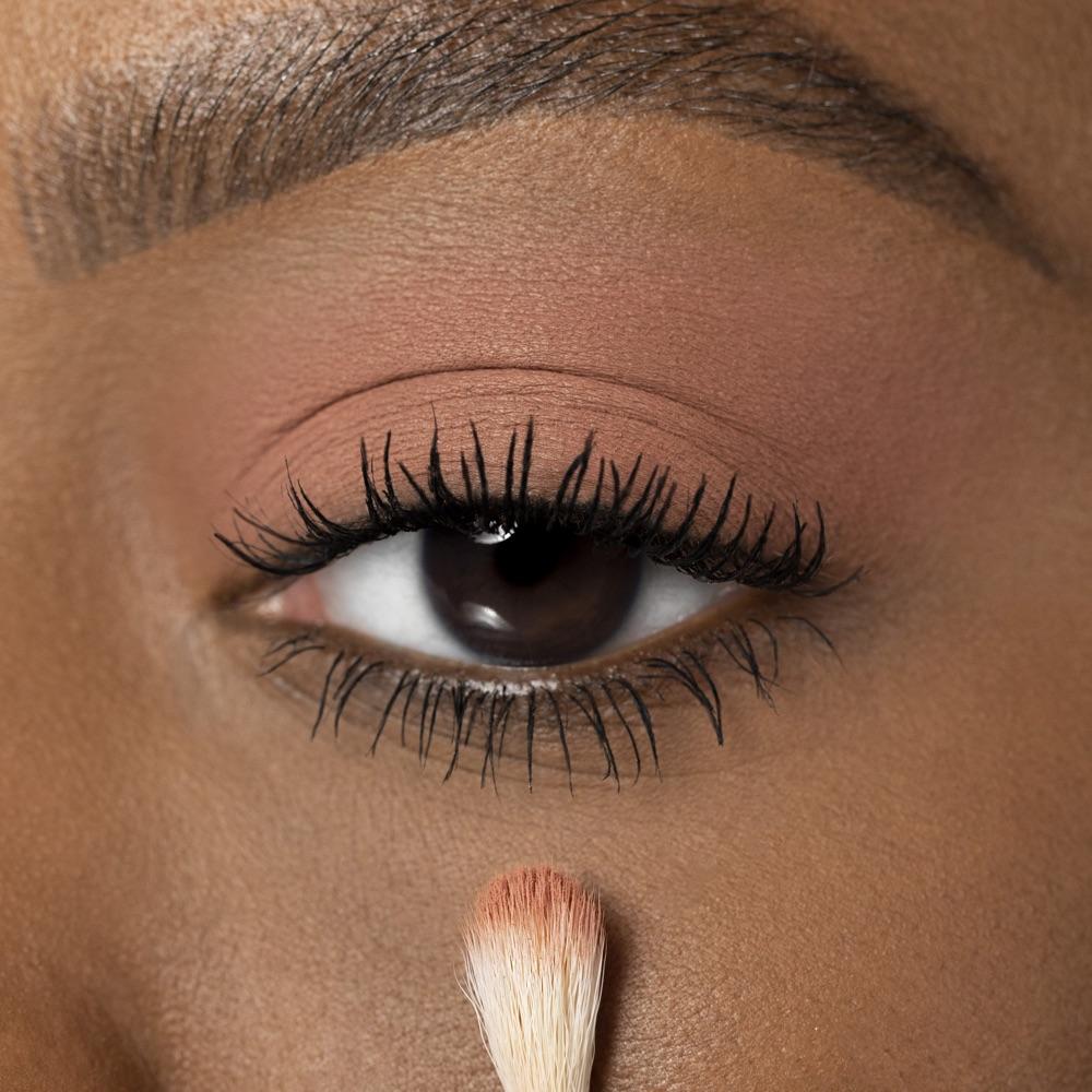 Salmon Pink - AS 112 - eyeshadow we make-up - Medium skin tone