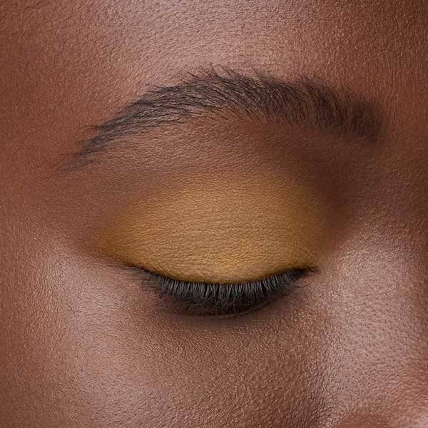 Mustard Yellow - AS 115 - eyeshadow we make-up - Dark skin tone
