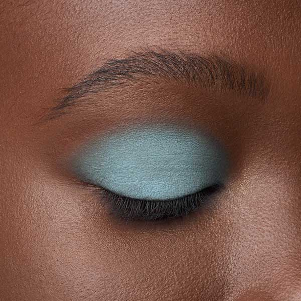 Grayish Blue - AS 135 - eyeshadow we make-up - Dark skin tone