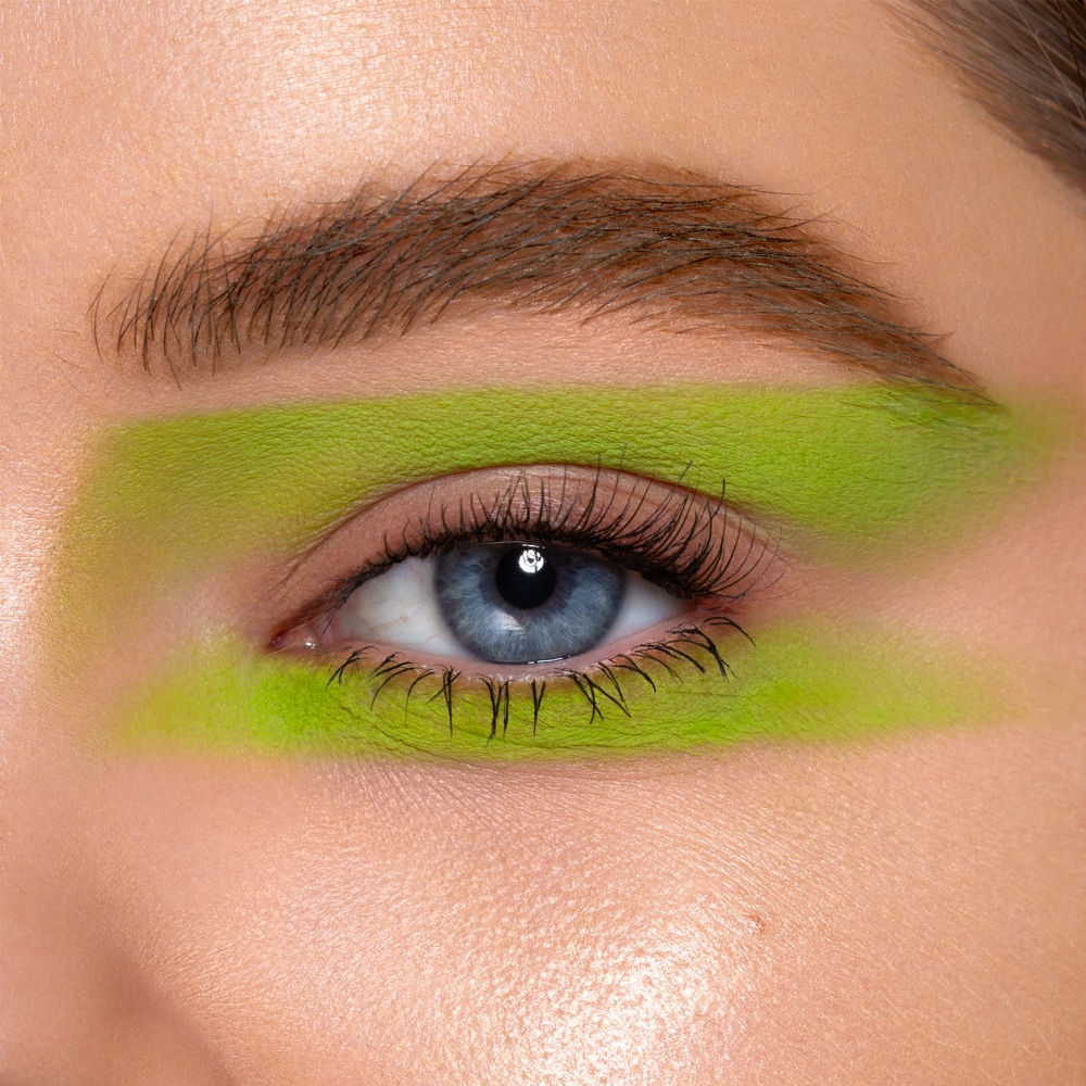 Lime Green - AS 144 - ombretto  we make-up - Carnagione chiara