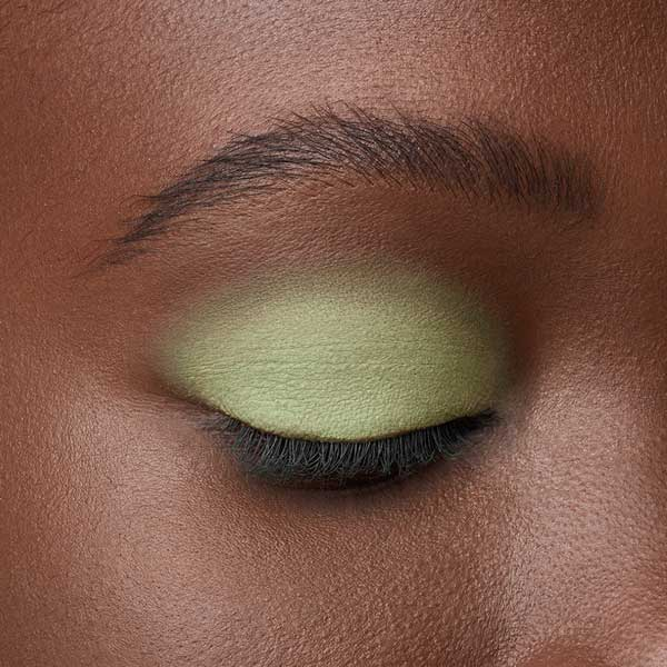 Lime Green - AS 144 - ombretto  we make-up - Carnagione scura