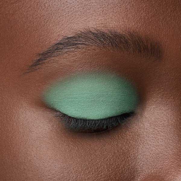 Mint Green - AS 145 - eyeshadow we make-up - Dark skin tone