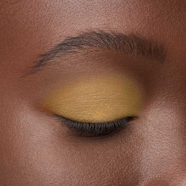 Dandelion Yellow - AS 147 - eyeshadow we make-up - Dark skin tone