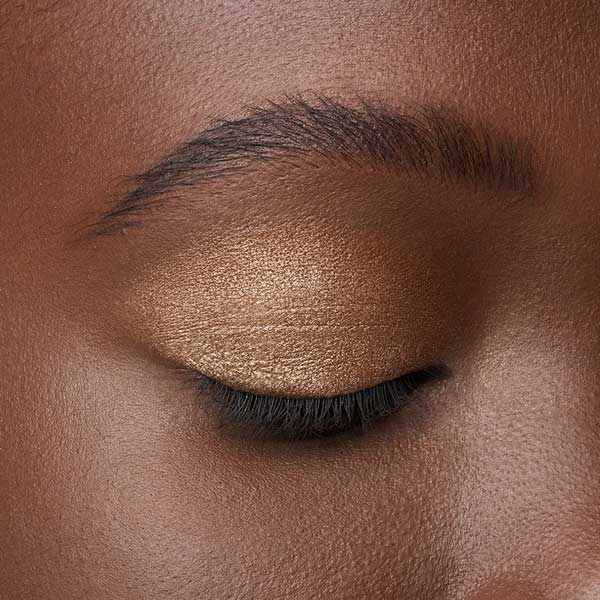 Bronze Gold - AS 202 - eyeshadow we make-up - Dark skin tone
