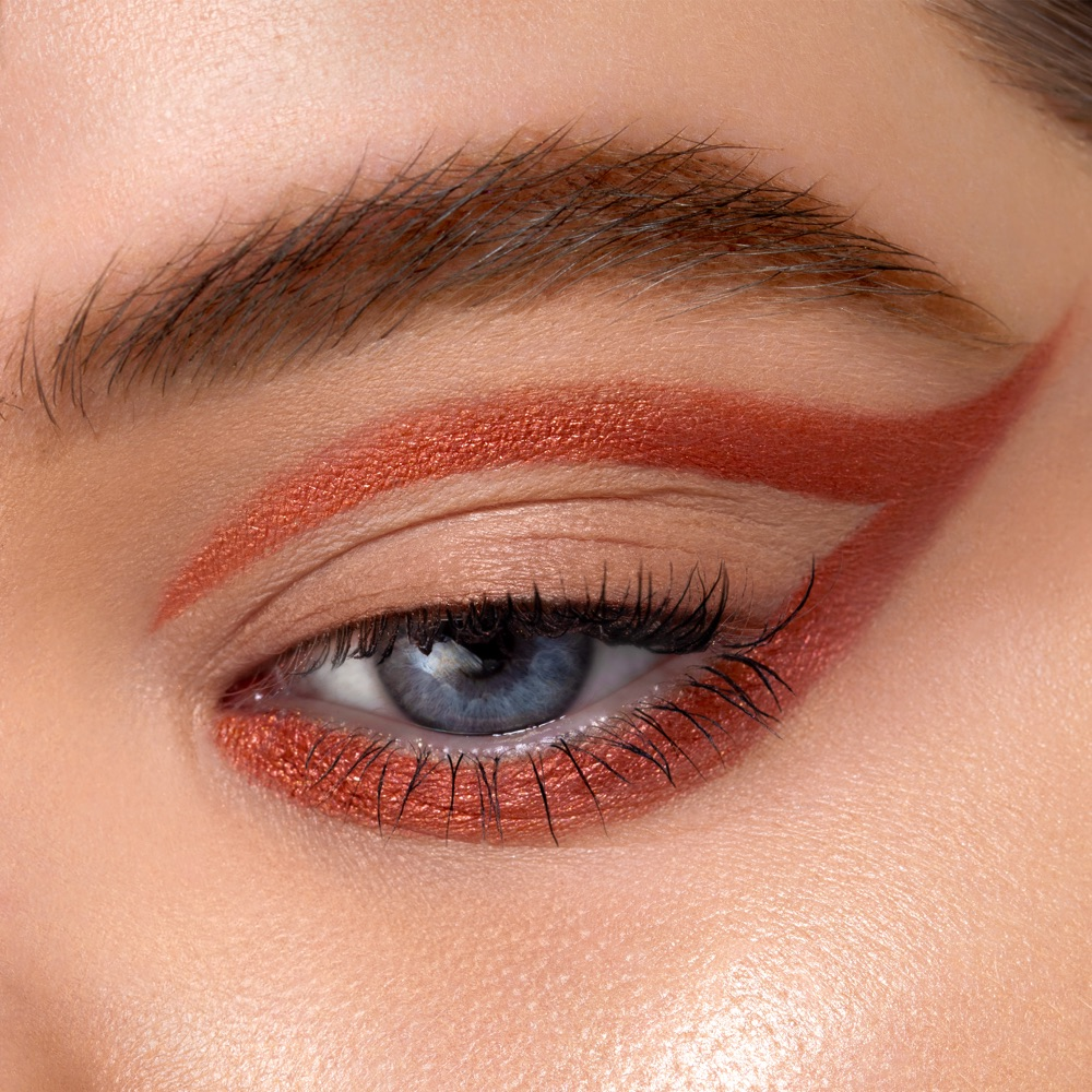 Copper Red - AS 205 - eyeshadow we make-up - Fair skin tone