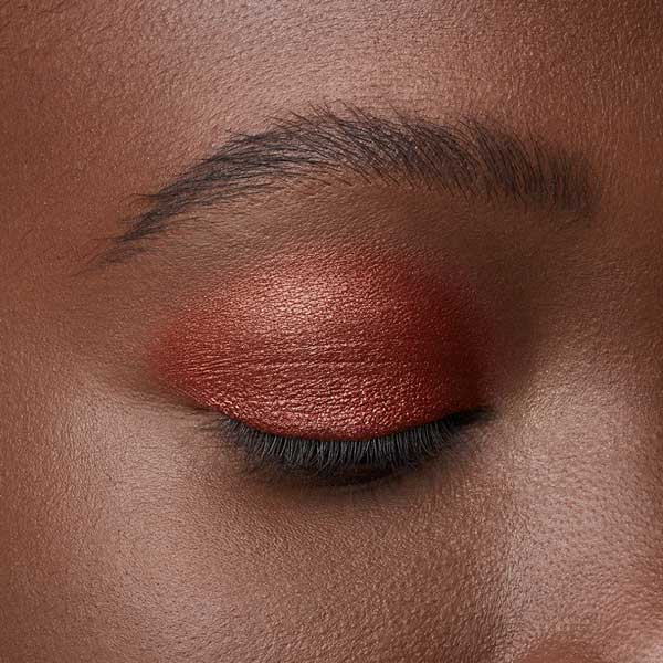 Copper Red - AS 205 - eyeshadow we make-up - Dark skin tone