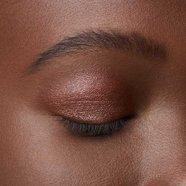 Dark Brown - AS 303 - eyeshadow we make-up - Dark skin tone