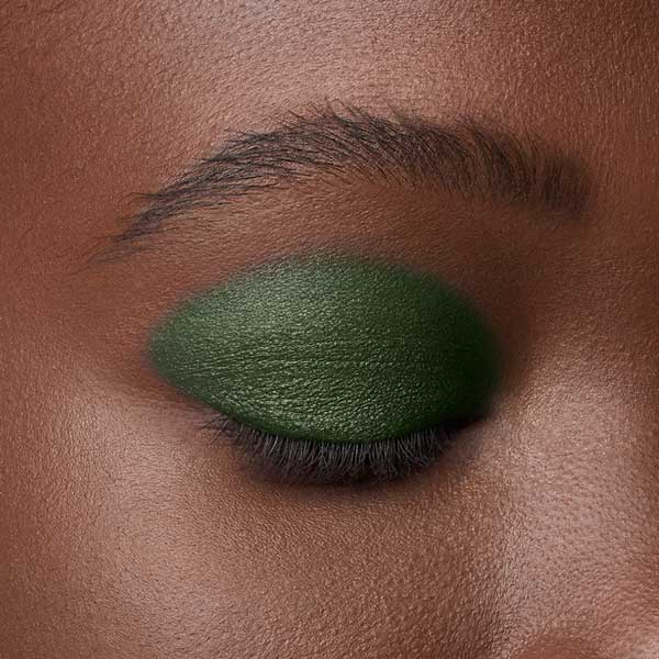 Dark Green - AS 310 - eyeshadow we make-up - Dark skin tone