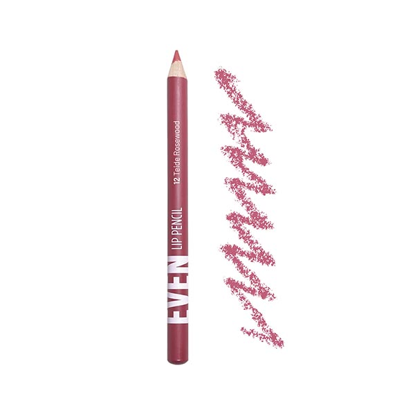 Teide Rosewood  - EVEN 12 - lip pencil we make-up - Packaging