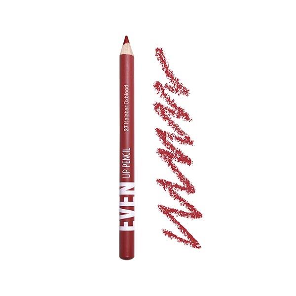 Malabar Oxblood - EVEN 27 - lip pencil we make-up - Packaging