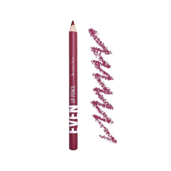 Katla Wine - EVEN 34 - lip pencil we make-up - Packaging