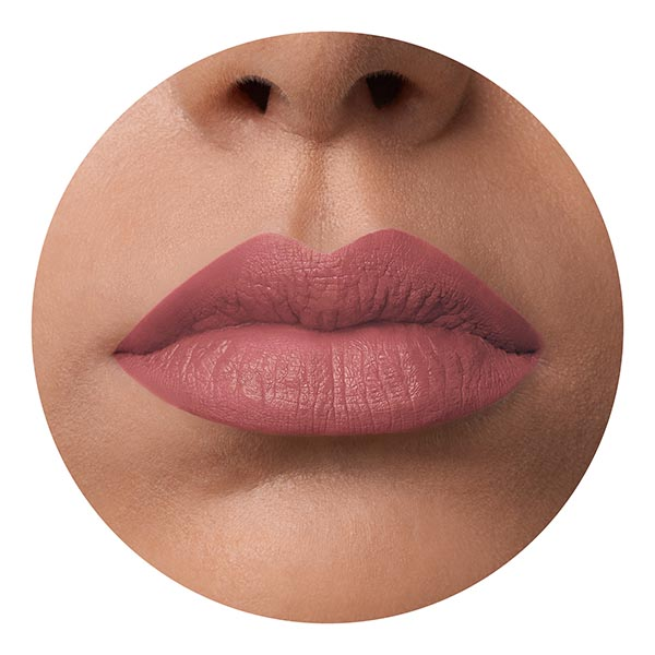 Marsili Nude - EVER 02 - liquid lipstick we make-up - medium skin tone
