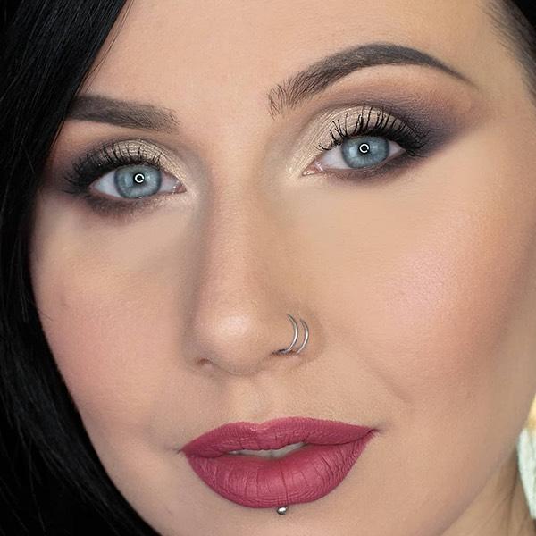 Newberry Carmine - EVER 06 - liquid lipstick we make-up - @freevoliamoci_makeup
