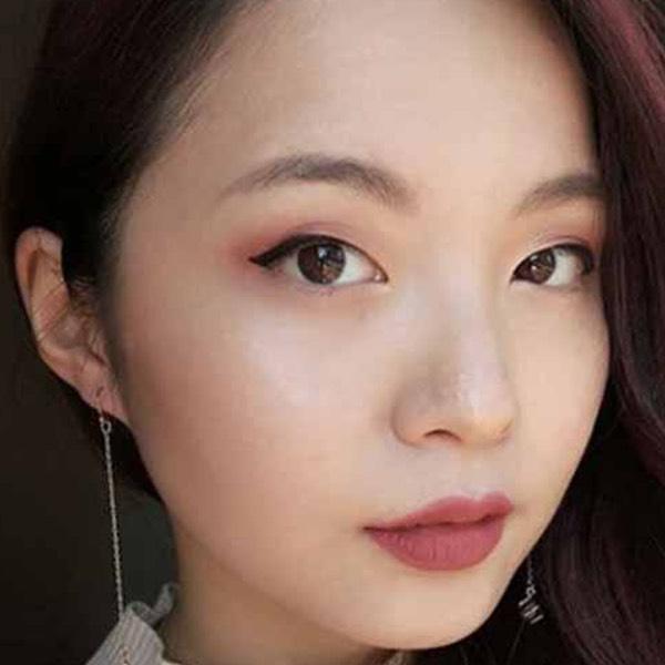 Saba Crimson - EVER 07 - liquid lipstick we make-up - @makeupfordessert