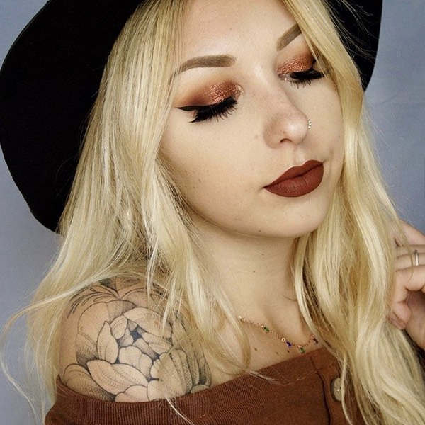 Azuma Dark Rust - EVER 08 - rossetto liquido we make-up - @makeupbyvals