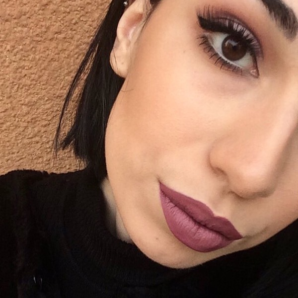 Lascar Mauve - EVER 10 - liquid lipstick we make-up - @chiara_catania_mua