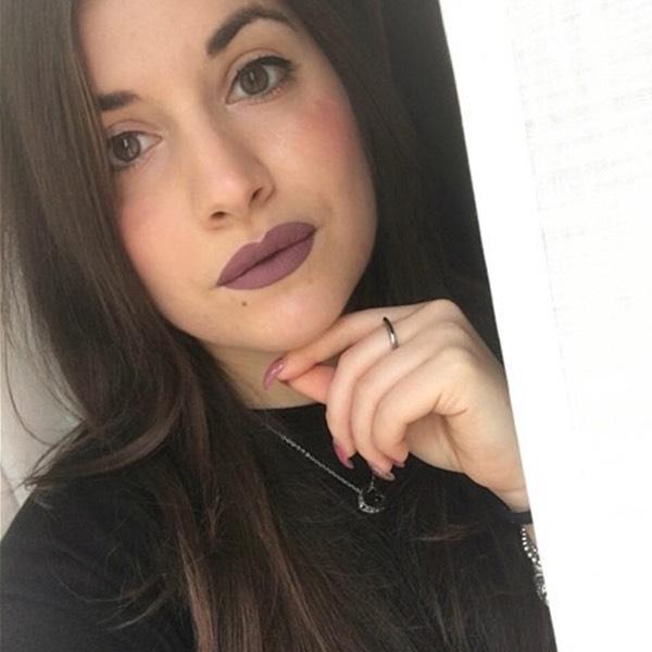 Lascar Mauve - EVER 10 - liquid lipstick we make-up - @elenia.gaude94