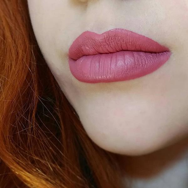 Teide Rosewood - EVER 12 - liquid lipstick we make-up - @giulialouferrari