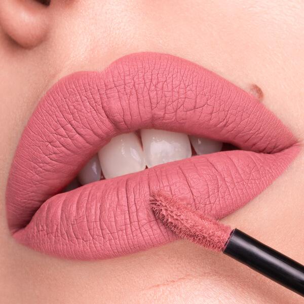 Aso Fair  - EVER 13 - liquid lipstick we make-up - Fair skin tone