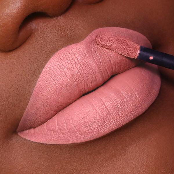 Aso Fair  - EVER 13 - liquid lipstick we make-up - Dark skin tone