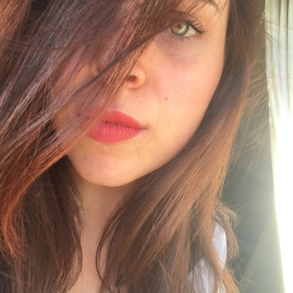 Salina Rose - EVER 20 - liquid lipstick we make-up - @peeeola