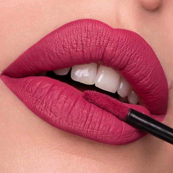 Filicudi Violet - EVER 21 - liquid lipstick we make-up - Fair skin tone