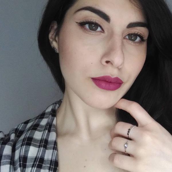 Filicudi Violet - EVER 21 - rossetto liquido we make-up - @ilenia.caforio