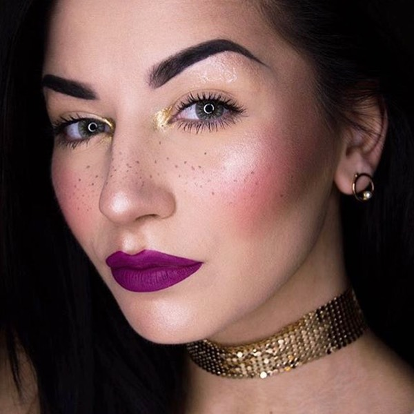 Stromboli Purple - EVER 23 - rossetto liquido we make-up - @martinacurcimua