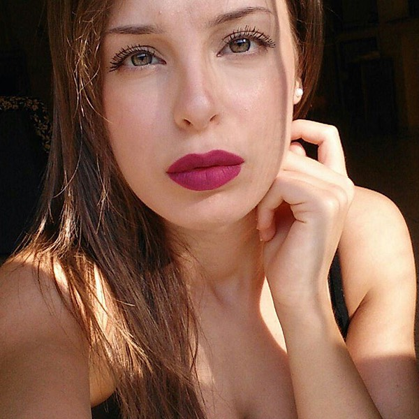 Stromboli Purple - EVER 23 - liquid lipstick we make-up - @francesca_sang