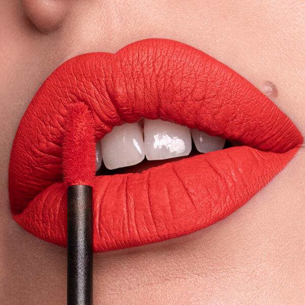 Orosì Lobster - EVER 24 - liquid lipstick we make-up - Fair skin tone