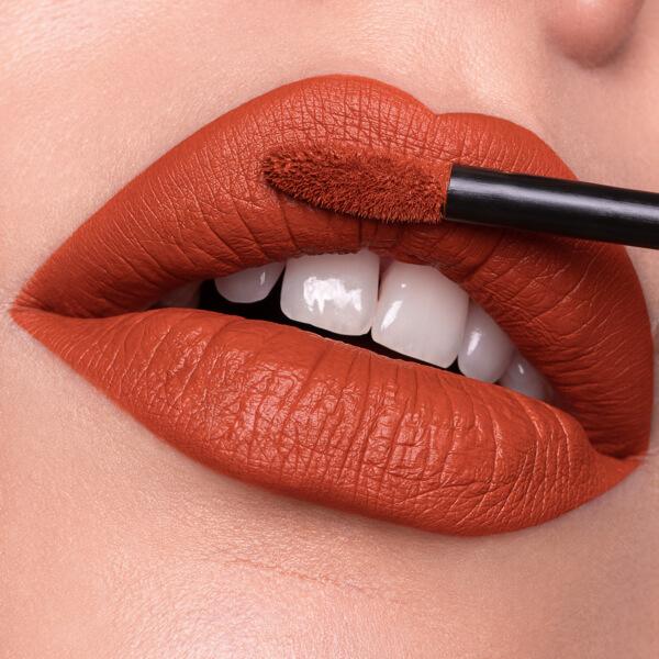Yucamane Ochra - EVER 25 - liquid lipstick we make-up - Fair skin tone
