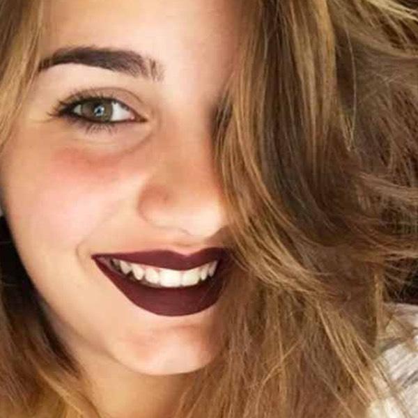 Amiata Aubergine - EVER 28 - liquid lipstick we make-up - @sendseals