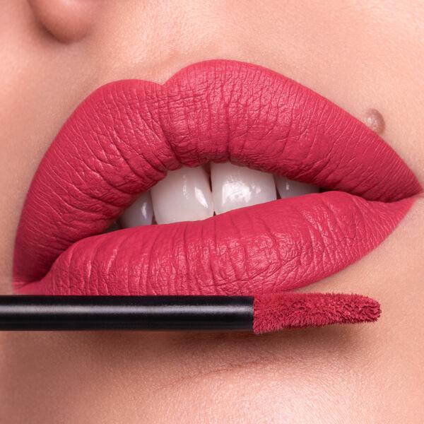Usu Old Rose - EVER 35 - liquid lipstick we make-up - Fair skin tone