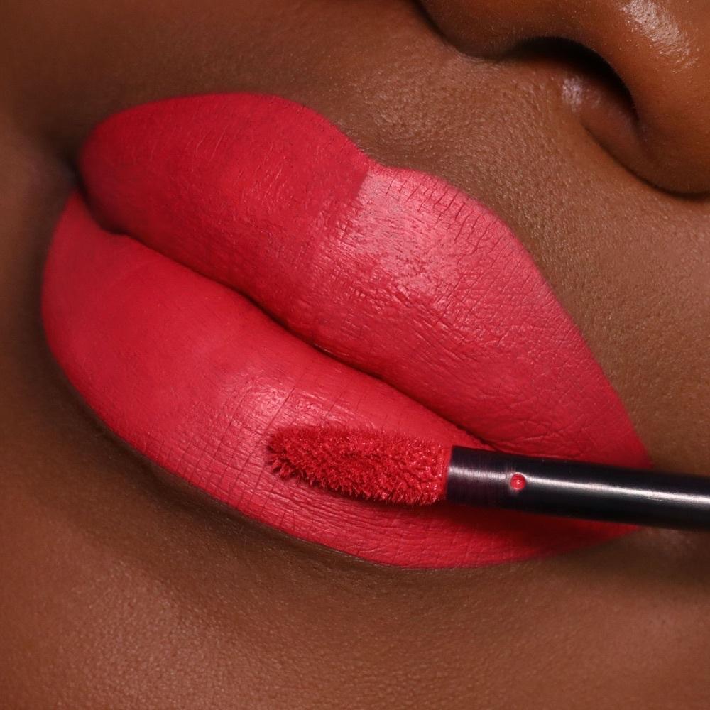 Ertale Flame - EVER 36 - liquid lipstick we make-up - Dark skin tone