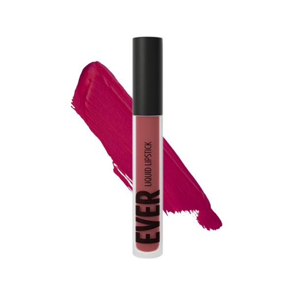 Santiaguito Cardinal - EVER 37 - liquid lipstick we make-up - Swatch