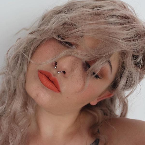 Barù Squash - EVER 38 - liquid lipstick we make-up - @aurohairmakeup