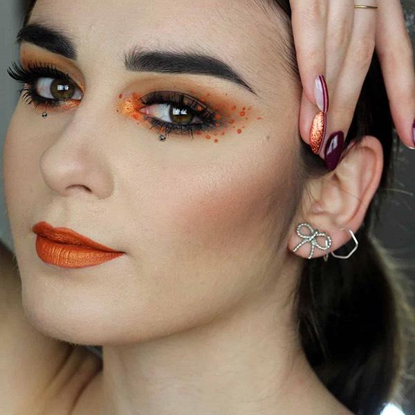 Barù Squash - EVER 38 - liquid lipstick we make-up - @flake_03