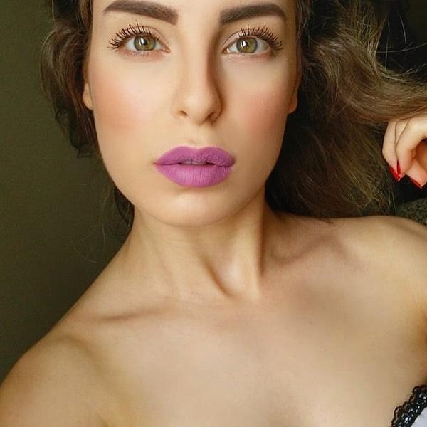 Geysir Lavender - EVER 39 - rossetto liquido we make-up - @francesca_sang