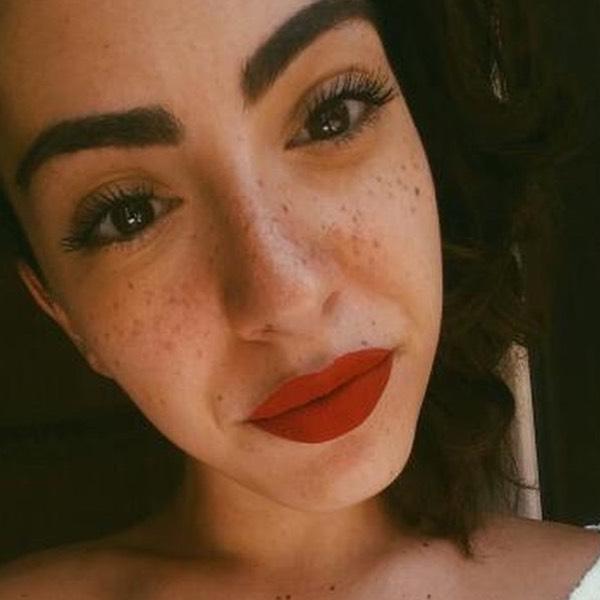Kilauea Ketchup - EVER 40 - liquid lipstick we make-up - @sheisbry_