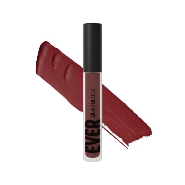 Hekla Barn Red - EVER 41 - rossetto liquido we make-up - Swatch
