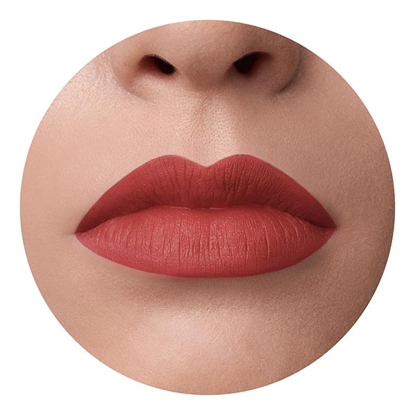 Kaba Coral - EVER 42 - liquid lipstick we make-up - Fair skin tone