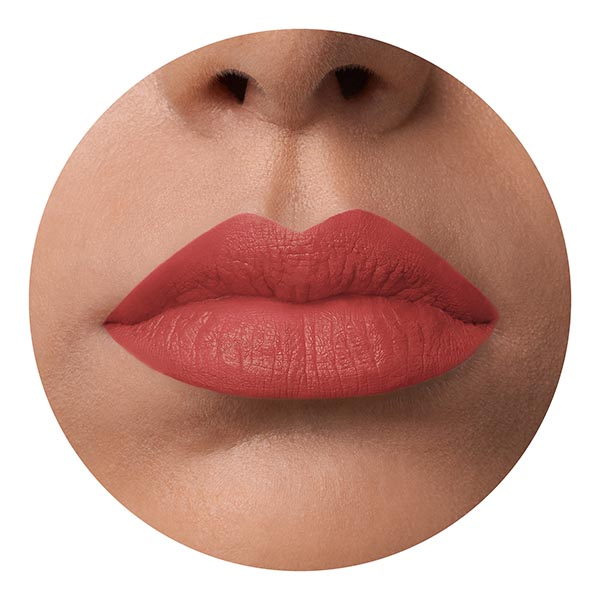 Kaba Coral - EVER 42 - liquid lipstick we make-up - Medium skin tone