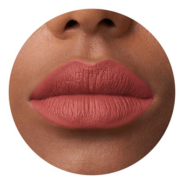 Kaba Coral - EVER 42 - liquid lipstick we make-up - Dark skin tone