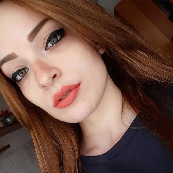 Kaba Coral - EVER 42 - liquid lipstick we make-up - @born2b_electron