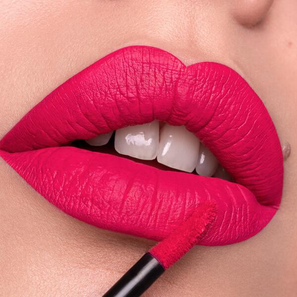Colima Flush - EVER 43 - liquid lipstick we make-up - Fair skin tone