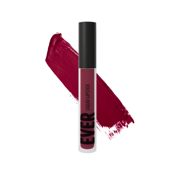 Jefferson Currant - EVER 46 - liquid lipstick we make-up - Swatch