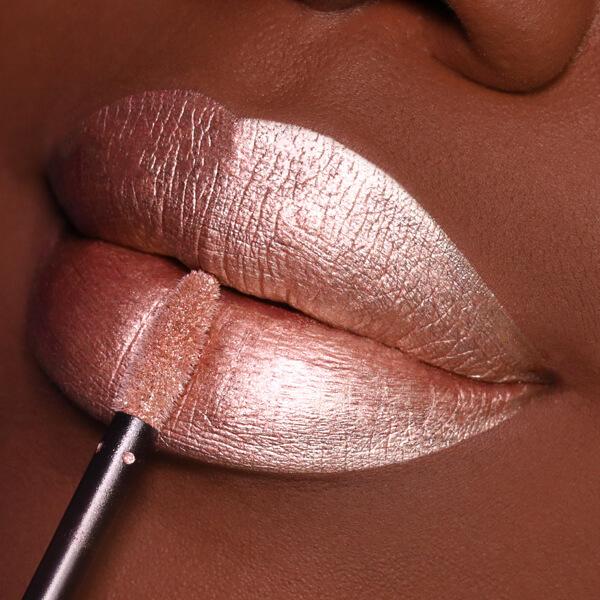 Alba Glow - EVER 60 - metal matte we make-up - Dark skin tone