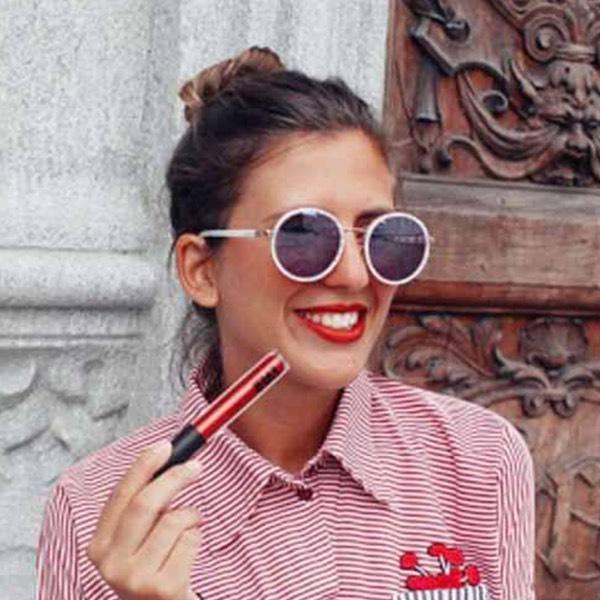 Tiger Red - EVER 64 - liquid lipstick we make-up - @silvia_sodano